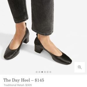 Everlane Day Heel black size 8 like new